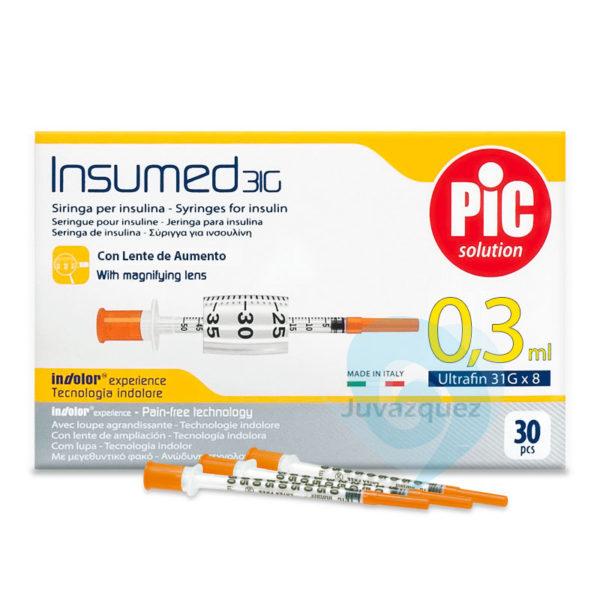 Jeringas Insulina 0 3 ml