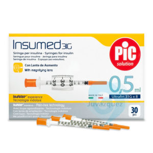 Jeringas Insulina 0 5 ml