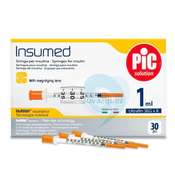 Jeringas de Insulina 1 ml